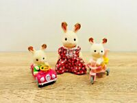 Sylvanian Families Babies Ride and Play Set Teri Freya Kabe Breeze Creme 2007