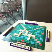 Scrabble Game Classic Crossword Game Kids Family Intelligent Puzzle Toy ! ~ bg