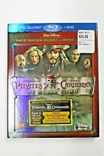 Pirates of the Caribbean at World's End 2Disc BLU RAY+ DVD  BNEW SEALED