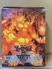 Yu-Gi-Oh! Blaze Of Destruction Starter Deck Structure Deck TCG CCG