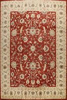 12'x15' Floral Oushak-Chobi Oriental Area Rug Hand-knotted Wool Over Size Carpet
