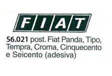 Scritta post. adesiva fiat Panda,Tipo,Tempra,Croma,Cinquecento e Seicento 56.021