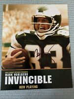 MARK WAHLBERG HAND SIGNED AUTOGRAPHED INVINCIBLE 8X10 PHOTO W/COA VINCE PAPALE