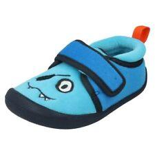 Pantoufles bleus pour garçon de 2 à 16 ans