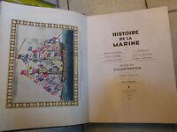 Histoire de la Marine Edité par L'Illustration 1942