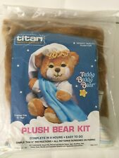 Titan Teddy Beddy Bear Plush Bear Kit ~ Sewing ~ NEW