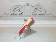Munro 1998 After The Party Mouse Figure Clean And Bright Limited Edition Dentist