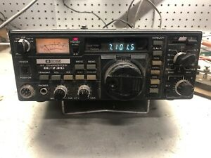 ICOM IC-730 HF Transceiver Working With Manual