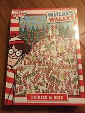 Where's Wally Fairies and Skis 1000 Piece Jigsaw Puzzle Christmas Scene Jigsaw