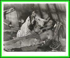 "YVETTE DUGAY & VINCE EDWARDS in ""Hiawatha"" Original Vintage Photo 1952"
