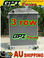 64mm 3 core 1932 FORD HIBOY HI-BOY  CHEVY engine  aluminum radiator