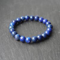 6mm Natural Grade A Lapis Lazuli Stretch Healing Bracelet Spiritual Chakra Beads