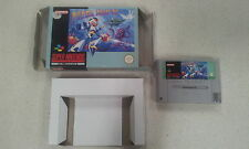 Mega Man X Super Nintendo SNES Boxed PAL Version