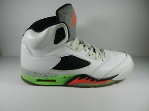 Air Jordan Retro 5 Poison Green Pro Stars Infrared 136027-115  Size 11 No Box