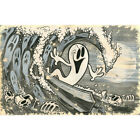 Beyond The Watery Grave by Shawn Dickinson Surf Art Print