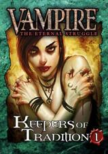 VTES Keepers of Tradition Reprint Bundle 1 - Sealed in Plastic - NIB