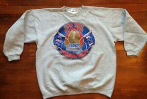 Vintage New York Giants 1997 NFC East Champions Starter Sweatshirt Size XL