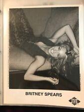 Britney Spears Headshot With Coa