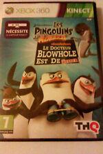 """JEU XBOX 360""""Les Pingouins De Madagascar""""(Le Docteur Blowhole est de Retou)NEUF"""