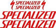 Specialized Bicycle Decal/Stickers Set MTB/Road (Gloss Red)