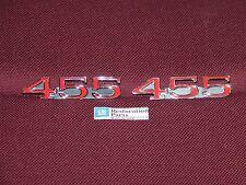 73 74 BUICK CENTURY 455 FRONT FENDER EMBLEM NEW AD37 1973 1974 GRAN SPORT BADGE