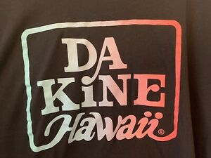 ***DA KINE DaKine HAWAII SURF SURFING HAWAIIAN TEE T SHIRT Sz Mens XL BLACK