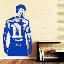 Wallpaper Neymar Home Decor Football Player Wall Sticker Removable Soccer Vinyl