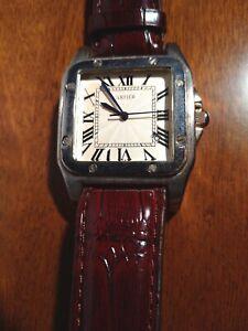 Cartier Mod. Santos orologio automatico vintage funzionante - Leggi bene