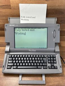 SHARP Font Writer FW-760 Word Processor /Typewriter/Printer