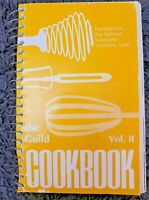 VINTAGE SPIRAL COOKBOOK THE GUILD COOKBOOK VOL II ~ 1978 LOCAL RECIPES COOK BOOK