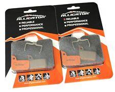 Alligator Bike MTB Disc Brake pads Avid Sram Red Force Rival HRR Calipers, 2 pc