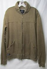 Matix Military Casual Sweatshirt Skate Skateboard Jacket Brown Size XL
