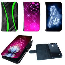Schutz Hülle für Smartphone Book Tasche Cover Flip Case Etui Schale Bumper Motiv