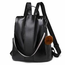 Female Backpack Korea Casual Women Pu Leather Pack Cross Shoulder School Bags
