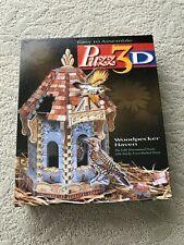 "Puzz 3D 'Woodpecker Haven' 232 Piece Dimensional Jigsaw Puzzle 6.25""x10.5""x8.5"""