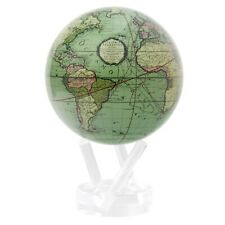 MOVA Cassini Terrestrial Green Globe 4.5 Inch Spinning Moving Rotating Earth