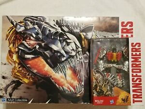Transformers  SDCC Dinobots w/Pop-Up Headquarters Hasbro NEW w/Slog US Seller