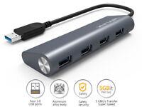 Wavlink USB Hub,4-Port USB 3.0 Portable Aluminum Hub,Multi-Function Dock for PC