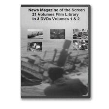 Vintage 50s News Magazine Classroom Newsreels 3 DVD Set - A109-111