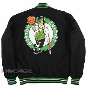 Celtics Reversible Jacket Boston NBA Black JH Design Basketball BABA Fore