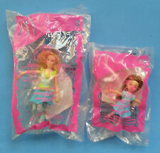 2006 Barbie 12 Dancing Princesses #3 & 10 - DELIA & JANESSA McDonald's NIP