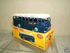 "DINKY TOYS MODEL  No.283   "" B.O.A.C""   COACH    VN  MIB"