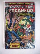 SUPER VILLIAN TEAM-UP #2 vf + 3 nm Namor and Dr. Doom! $38 Guide Price!