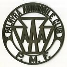 Early+1900%27s+Palmyra+PA+Tin+Automobile+Club+AAA+PMF+Radiator+Badge+Emblem+Sign+