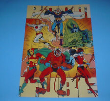 DC COMICS THE NEW GODS BOOM POSTER PIN UP ORION,LIGHTRAY,MISTER MIRACLE
