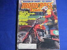 MOTOCROSS ACTION MAGAZINE-DEC 1978-MOTO X FOX YZ125-DG OW REPLICA-DERBI 125