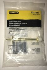 Stanley Solid Doorstop Bright Brass Finish 57-1010 New