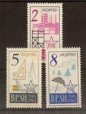 Albania 1965 Trade Unions SG879-881 MNH Cat£32