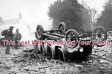 DE 49 - Charabanc Accident, Cullompton, Devon - 6x4 Photo