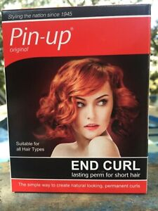Pin-Up End Curl Lasting Perm for Short Hair Kit 55ml